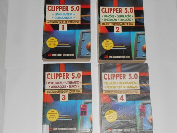 Kit Com 6 Livros - Clipper 5.0