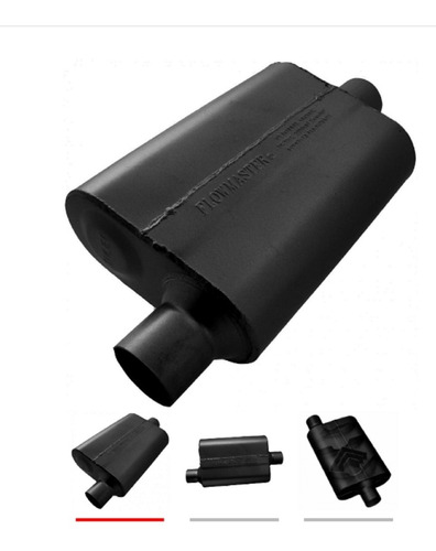 Flowmaster 942541 Delta 40 Flow Muffler - 2.50 In / 2.5 Out