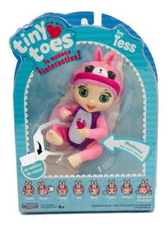 Tiny Toes Tess Muñeca Interactiva 13 Cm Original