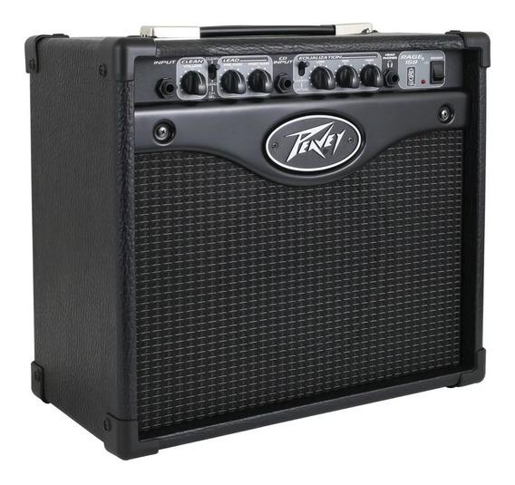 Cubo Amplificado De Guitarra Peavey Rage 158 Profissional