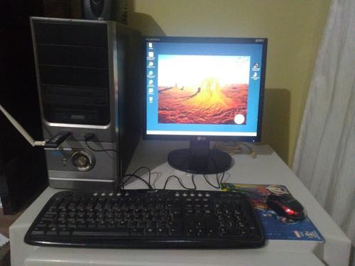 Vendo Computador Dual Core Windows 7 Completo (usado)