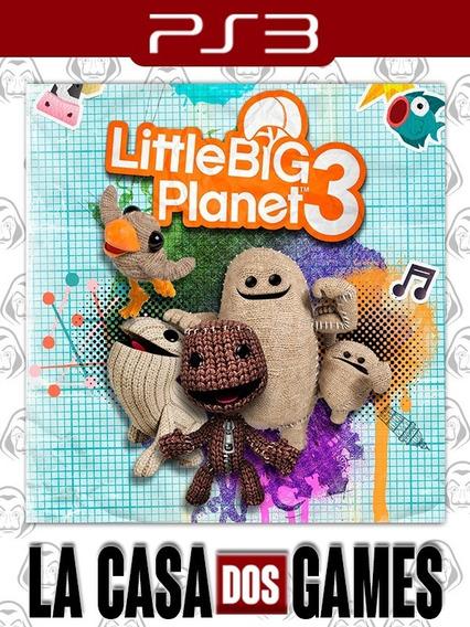 Littlebigplanet 3 - Psn Ps3 _ Envio Imediato