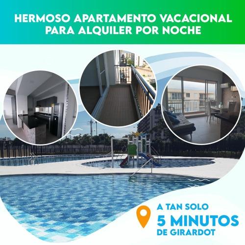 Imagen 1 de 14 de Lindo Apartamento Alquiler Por Noche En Peñalisa Ricaurte