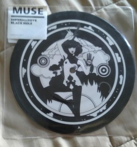 Vinilo Muse Supermassive Black Hole Picture Disc Single Cerr