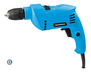 Taladro Percutor Gamma 650w Mandril 10mm Reversa G1901 Mecha