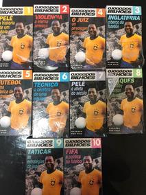 Vhs O Jogo Dos Bilhões - Pelé - Futebol - Coleção Completa