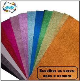5pct C/5 Unidades De Placa De Eva 40x60 De E.v.a Com Glitter