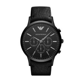Relógio Masculino Armani Empório Har2461/z 46mm Couro Preto