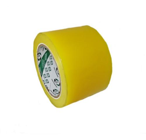 Cinta Amarilla Invernadero 72mmx50mts Cintandina X 6und