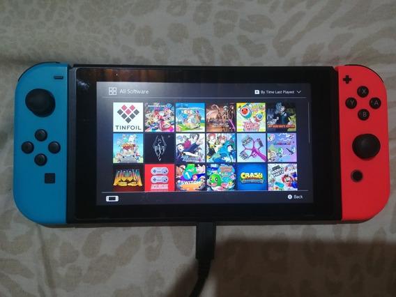 Nintendo Switch Completo Desbloqueado