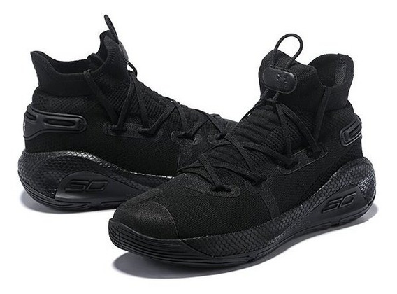 Tenis Under Armour Curry 6 Triple Black