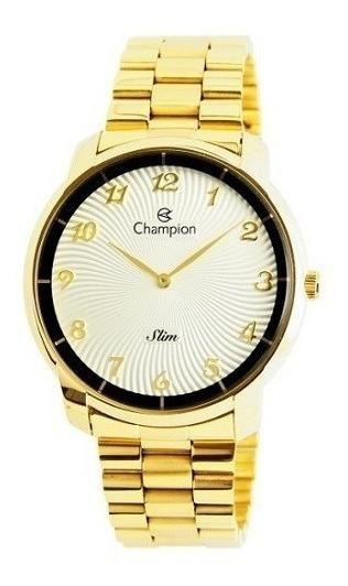 Relógio Champion Feminino Analógico Dourado Ca21802h