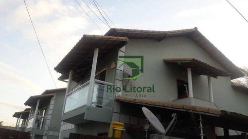 Apartamento Com 2 Dormitórios Para Alugar, 60 M² Por R$ 1.000,00/ano - Jardim Mariléa - Rio Das Ostras/rj - Ap0565