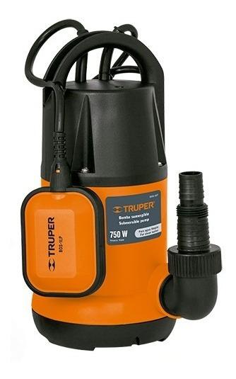 Bomba Sumergible De 1 Hp Para Agua Limpia Truper Tru12602
