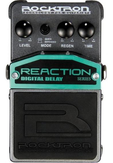 Pedal Rocktron Reaction Digital Delay -novo / Mostruário