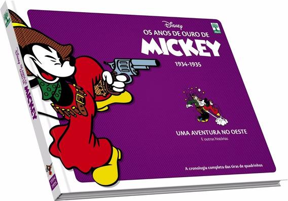 Os Anos De Ouro De Mickey 1934 1935 - Bonellihq Cx374 G18