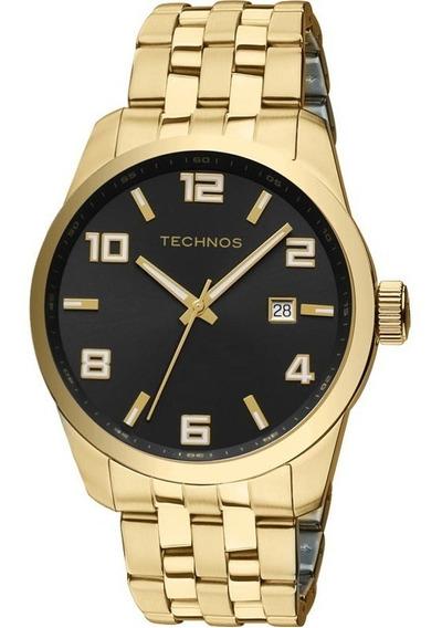 Relógio Technos Golf Masculino Dourado 2315yj/4p Original
