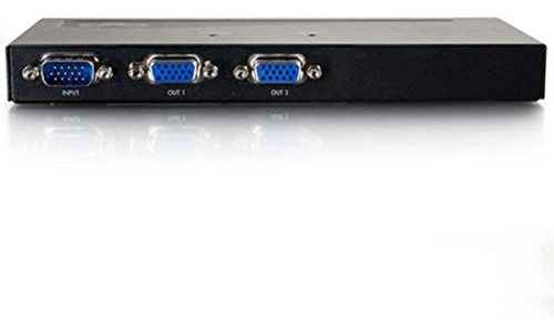 Imagen 1 de 2 de C2gcables Para Ir 29550 2port Uxga Monitor Splitterextender
