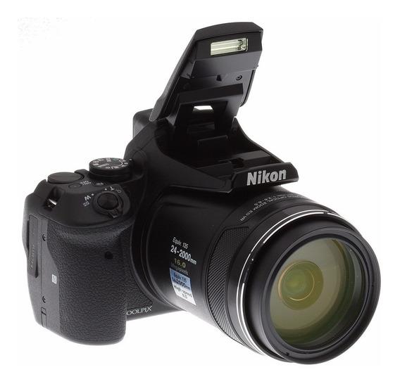 Câmera Nikon Coolpix P900 16mp 83x Wifi Com Nota Fiscal