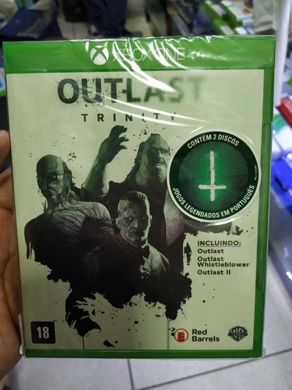 Outlast Trinity Xbox One Mídia Física Lacrada Leg. Pt.