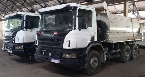 Scania P 310 6x4 Ano 2014 Caçamba Rossetti Retarder