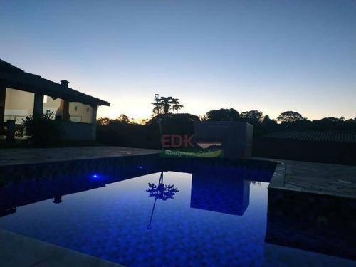 Imagem 1 de 17 de Chácara Com 3 Dormitórios À Venda, 1300 M² Por R$ 535.000,00 - Portal Mantiqueira - Caçapava/sp - Ch0220