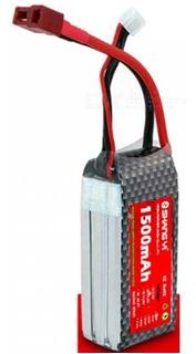 Bateria Shangyi Lipo 3s 1500mah 11.1v 25c Conector T