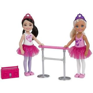 Set 2 Muñecas Barbie Chelsea Mattel