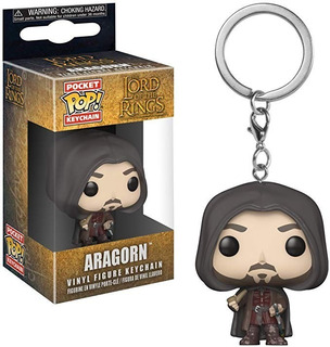 Funko Pop Keychain Lord Of The Rings Aragorn