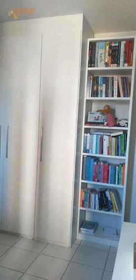 Apartamento Com 3 Dormitórios À Venda, 83 M² Por R$ 440.000 - Torre - Recife/pe - Ap3685