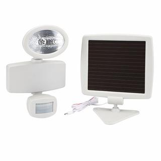 Lampara Led Con Panel Solar Y Sensor De Mov. De Seguridad