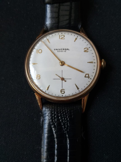 Relógio Universal Geneve De Ouro 18k