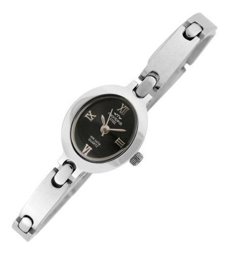Reloj Montreal Oficial Dama 100% Acero Ml075 Envio Gratis