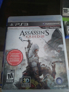 Assassin Cred Iii Ps3