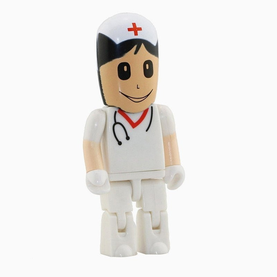 Pen Drive Médico Cirurgião Branco 8gb