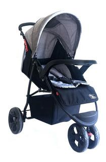 Carrinho Bebê Triciclo De Passeio Urban 101x57x92 Baby Style
