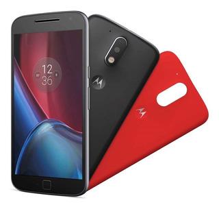 Smartphone Moto G4 Plus Preto Com 32gb, Android 8.1 Oreo