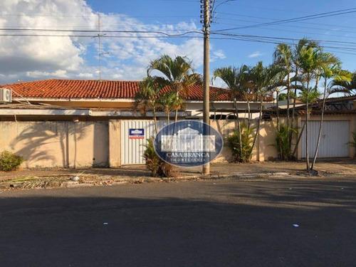 Imagem 1 de 11 de Casa Com 3 Dormitórios Para Alugar, 280 M² Por R$ 3.000/mês - Saudade - Araçatuba/sp - Ca0885