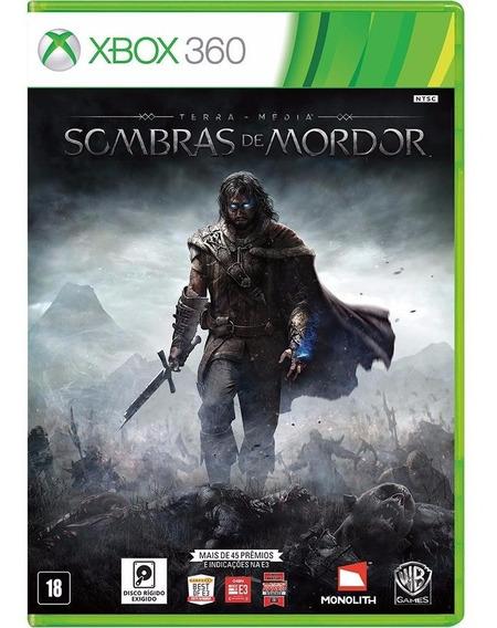 Sombras De Mordor (mídia Física 100% Pt-br) Xbox 360