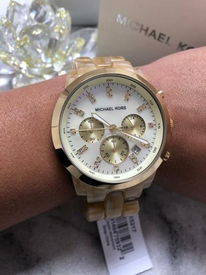 Relógio Michael Kors Mk5217 Madre Pérola C/caixa Mk Original