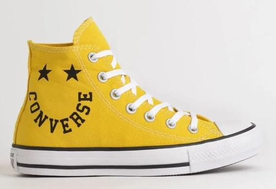 Tênis Converse All Star Amarelo Ct13180003 Original