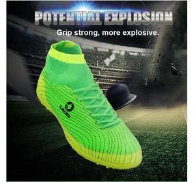 Zapatillas De Fútbol Leoci Ideal Para Grass Y Concreto