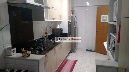 Apartamento Com 3 Dormitórios À Venda, 87 M² Por R$ 425.000 - Floradas De São José - São José Dos Campos/sp - Ap2415