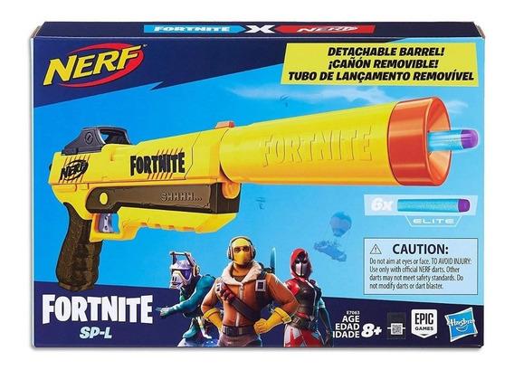 Nerf Pistola Fortnite Lanza Dardos Hasbro Original E7063
