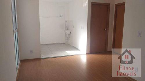 Imagem 1 de 16 de Apartamento Com 2 Dormitórios À Venda, 48 M² Por R$ 200.000,00 - Jardim Santa Rosa - Campinas/sp - Ap1199