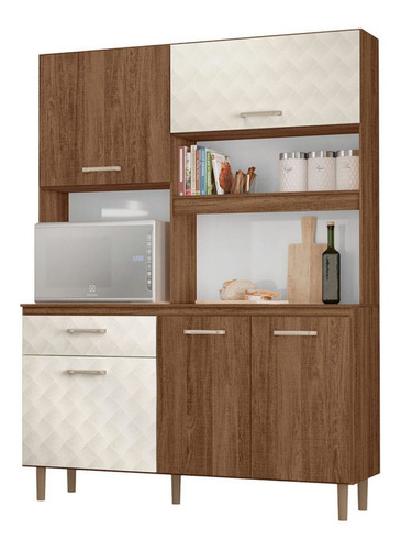 Mueble De Cocina Kit Completo 5 Puertas 1 Cajon Amoblamiento