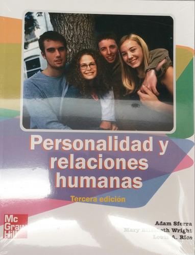 Imagen 1 de 1 de Personalidad Y Relaciones Humanas. Sferra, Wright. 3 Edicion