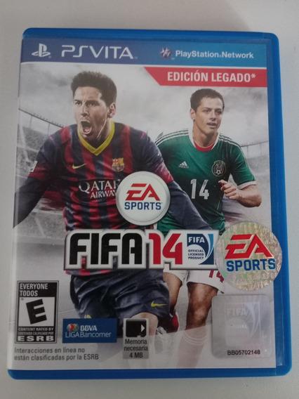 Fifa 14 - Ps Vita - Game Futebol