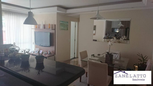 Apartamento 2 Dorm. Com 2 Sacadas - Horto Do Ype - Campo Limpo - V0263