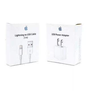Cargador Original Y Cable iPhone 8 6s 7 Plus Xr Xs Max Pared